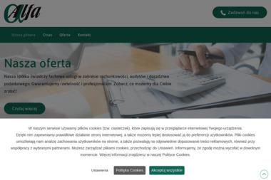 Kancelaria Auditingu i Podatków Alfa Mgr Jadwiga Godlewska - Rachunkowość Grójec