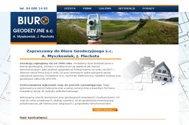 Biuro Geodezyjne s.c. A. Myszkowiak, J. Piechota - Geodeta Biłgoraj