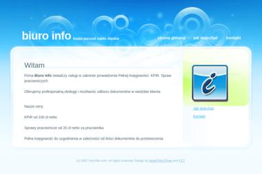 Biuro Info Beata Paruzel - Usługi księgowo rachunkowe - Biuro rachunkowe Nakło Śląskie