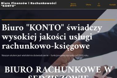 Biuro Finansów i Rachunkowości Konto - Usługi Księgowe Sędziszów Małopolski