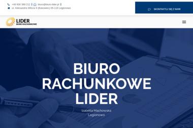 Biuro Rachunkowe Lider. Obsługa księgowa, obsługa podatkowa - Biuro Rachunkowe Legionowo