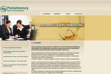 Biuro Rachunkowe A D Poniatowscy Anna Poniatowska - Finanse Kowale