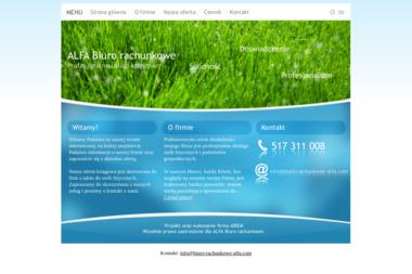 'ALFA' Biuro rachunkowe - Prowadzenie Ksiąg Rachunkowych Grodzisk Mazowiecki
