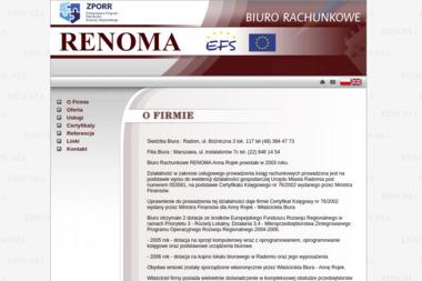Biuro Rachunkowe Renoma - Biuro rachunkowe Radom