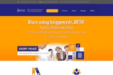 Biuro Usług Księgowych Beta Aneta Dobrowolska - Usługi finansowe Częstochowa