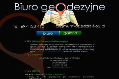 Usługi Budowlano-Geodezyjne Zygmunt Dziedzic - Geodeta Staszów