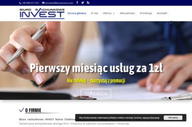 Biuro Rachunkowe Invest - Usługi finansowe Ostrołęka