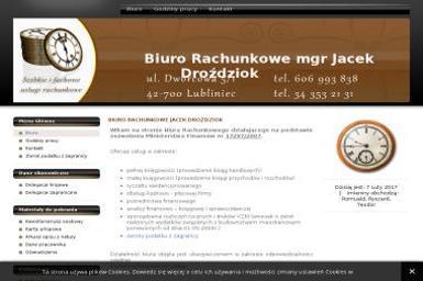 Mgr Jacek Droździok Biuro Rachunkowe - Biuro rachunkowe Lubliniec
