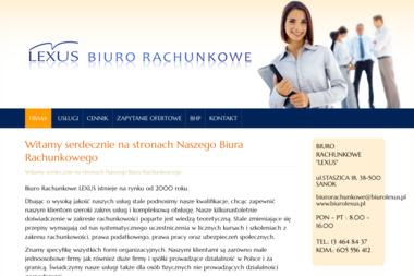 "BIURO RACHUNKOWE ""LEXUS"" - Biuro rachunkowe Sanok"