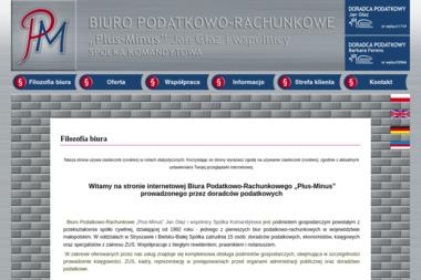 Biuro Podatkowo Rachunkowe Plus Minus Jan Głaz i Wspólnicy Sp.K. - Biuro rachunkowe Stryszawa