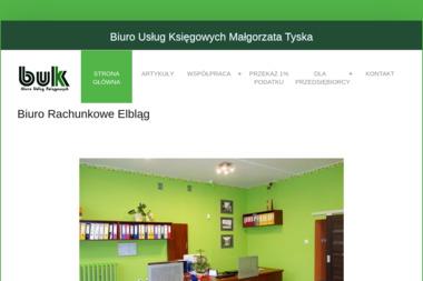 Biuro Usług Księgowych Małgorzata Tyska - Usługi finansowe Elbląg