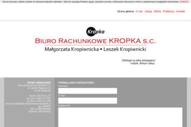 Biuro Rachunkowe KROPKA - Biuro rachunkowe Białystok