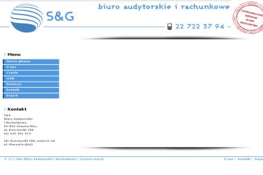 S&G Biuro Audytorskie - Sprawozdania Finansowe Ożarów Mazowiecki