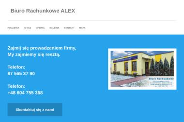 Biuro Rachunkowe ALEX Aleksander Kruchelski - Księgowy Suwałki