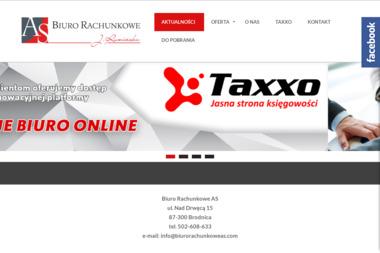 Biuro Rachunkowe AS - Usługi finansowe Brodnica