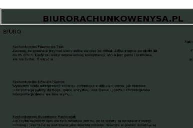 Biuro Rachunkowe Biegły Rewident Agnieszka Nocoń - Finanse Nysa