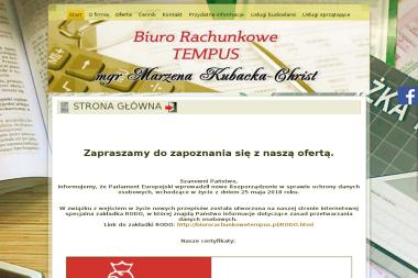 Biuro Rachunkowe Tempus - mgr Marzena Kubacka-Christ - Biuro rachunkowe Zabrze