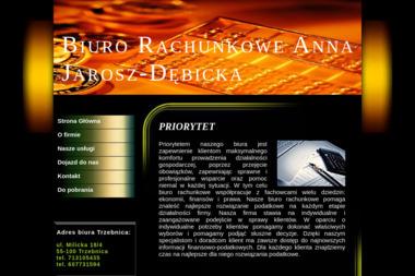 BIURO RACHUNKOWE Anna Jarosz-Dębicka - Finanse Trzebnica