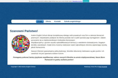 Biuro Tłumaczeń Avalon English School - Tłumacze Leżajsk