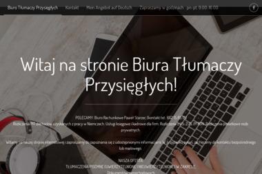 Biuro Tłumaczeń Joanna Starzec - Tłumacze Żary