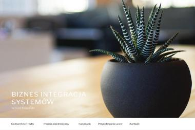 Biznes Integracja Systemów Witold Kowalski. Podpis elektroniczny (certyfikat) do płatnika - Strona www Zduńska Wola
