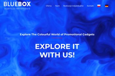 Blue-Box Agencja Reklamowa. Izabela Baranowska - Paczki Mikołajkowe dla Dzieci Szczecin