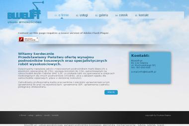 BlueLift.pl Usługi Wysokościowe, prace wysokościowe - Odśnieżanie Gdynia