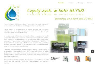 Firma Usługowo Handlowa Błysk Grażyna Domagalska - Sprzątanie domu Piła