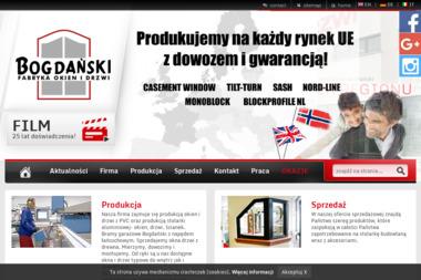 Bogdański. Fabryka Okien i Drzwi - Okna PCV Tarnów