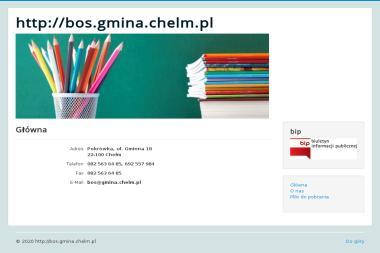 Biuro Obsługi Szkół Gminy Chełm - Biuro rachunkowe Pokrówka