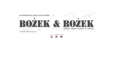 Bożek & Bożek - Ślusarz Moszczenica