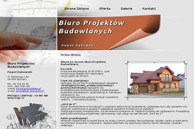 Biuro Projektów Budowlanych-Paweł Dębowski - Nadzór Budowlany Opoczno