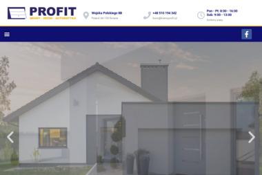 Przedsiębiorstwo Handlowo Usługowe Wielobranżowe Profit Wawrowski Adam - Murowanie ścian Chełmno