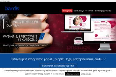 Brandis. Agencja interaktywna, strony internetowe - Pozycjonowanie stron Olsztyn