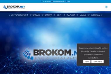 BROKOM.NET - Strony internetowe Dąbrowa Górnicza