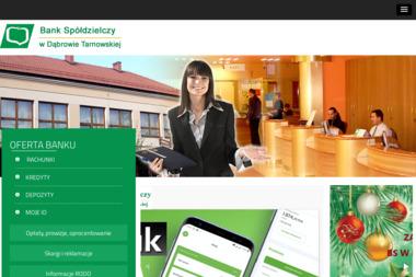 Bank Spółdzielczy w Dąbrowie Tarnowskiej - Kredyt hipoteczny Dąbrowa Tarnowska