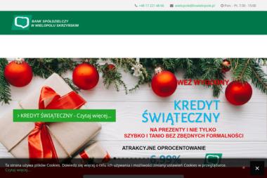 Bank Spółdzielczy w Wielopolu Skrzyńskim - Kredyt hipoteczny Wielopole Skrzyńskie