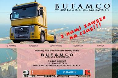 Dariusz Tadeusiak Bufamco - Transport busem 艁owicz