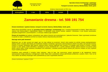 Ulotka Szymon Smajek - Drewno kominkowe Jaworze