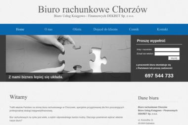 Biuro Usług Księgowo Finansowych Dekret Sp. z o.o. - Biuro rachunkowe Chorzów