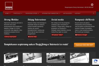 Bunker Studio Agencja Reklamowa - Pozycjonowanie Radom