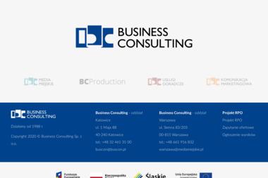 Business Consulting Telekomunikacja Sp. z o.o. - Kalendarze Katowice