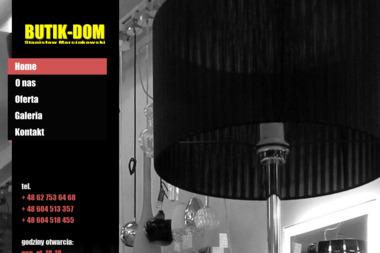 Butik-Dom. Oświetlenie, kominki, wentylacje, domy pasywne - Domy Drewniane Kalisz