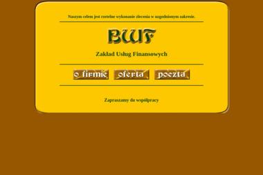 Bwf Zakład Usług Finansowych Włodzimierz Buczak - Usługi finansowe Nowa Sól