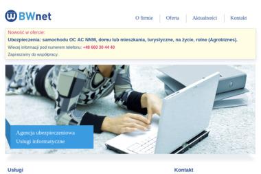 Bwnet Sp. z o.o. - Strony internetowe Pełkinie