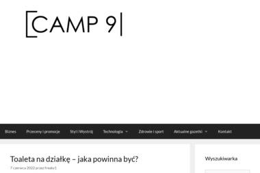Camp Nine. Agencja reklamowa - Pozycjonowanie stron Olsztyn