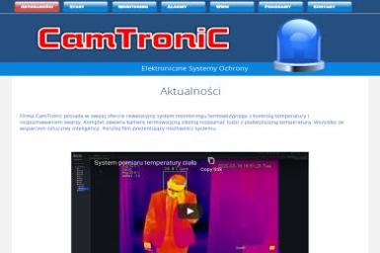 CamTronic - Alarmy Olkusz