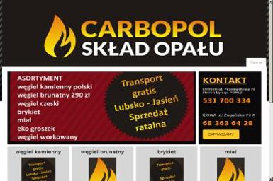 Carbopol - Skład węgla Iłowa