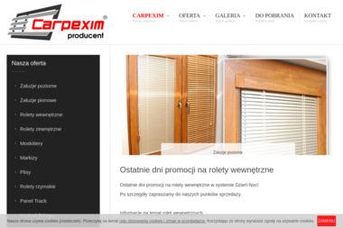 Carpexim - Moskitiera Drzwiowa Łomża