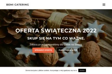 Catering Bemi Michał Bejma. Catering weselny, catering dla firm - Gastronomia Murowana Goślina